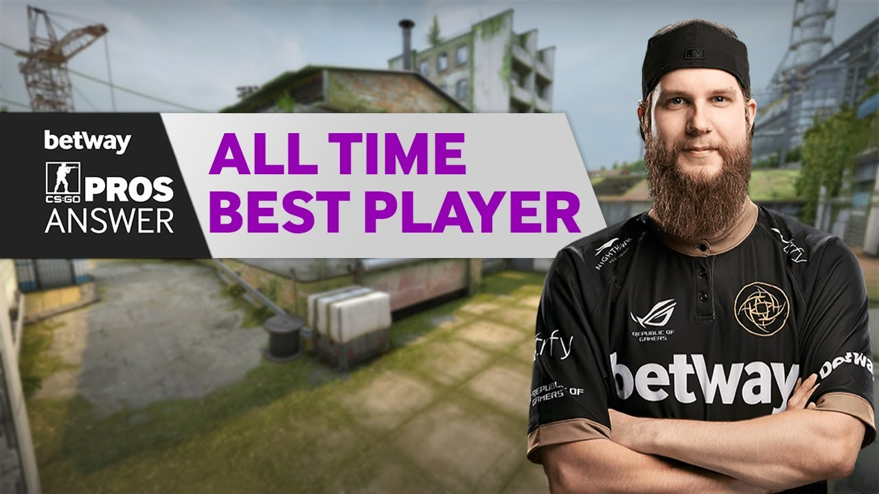 CS:GO Pros Answer: Who is the Best Counter-Strike Player Ever? thumbnail