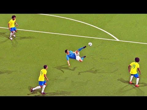 BRASIL X URUGUAI: COPA DO MUNDO FINAL VIRTUAL - Pro Evolution Soccer 2018 (PES 2018)