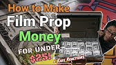 How To Make $100k+ Prop Money For Your Films! - YouTube