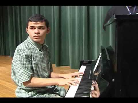 Texas Boy With Autism A Musical Genius - Shane McAuliffe - KBTX News 3