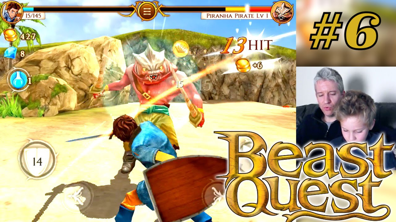 let's play beast quest  part 6  sepron defeated  youtube