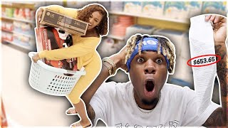 Anything My Girlfriend Can CARRY I'll Buy It Challenge!!!