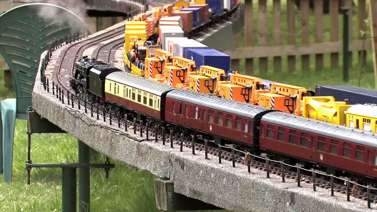 Gauge 1 garden railway ADLESTROP