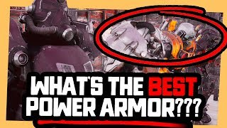 Fallout 76 | WHICH IS  THE BEST POWER ARMOR?! (12-10-2018)