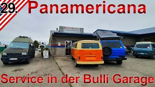 Service in der Bulli Garage | Washington Staat | Panamericana VW T4 Syncro Offroad Camper | #29.