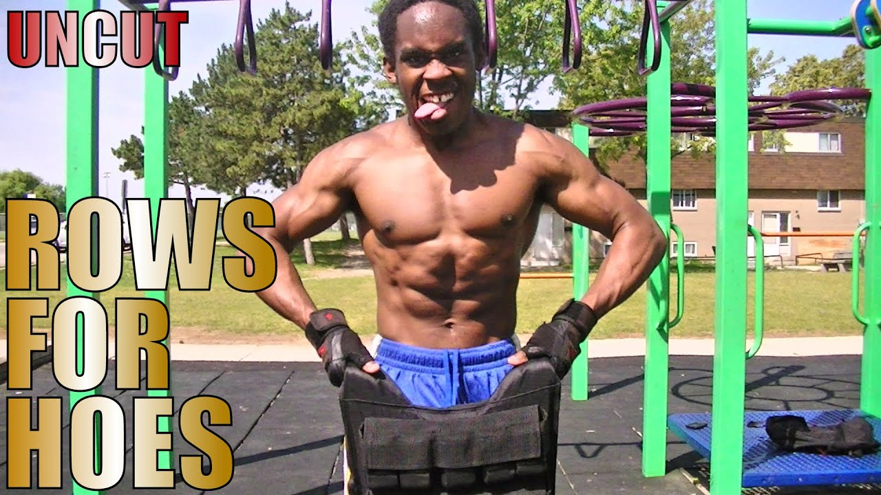 Uncut bodybuilder