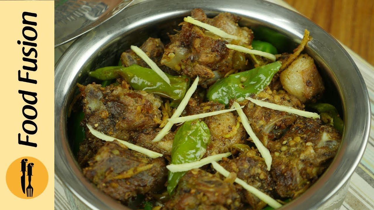 Mutton sulemani karahi recipe by food fusion youtube forumfinder Gallery