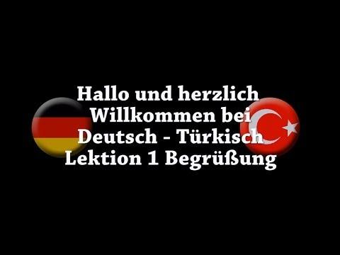 Deutsch   Türkisch Begrüßung