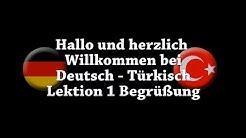 Deutsch - Türkisch Begrüßung