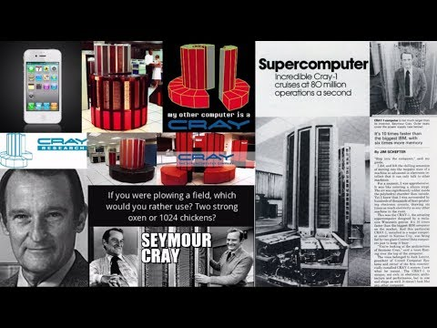 Andrew Bartzis - AI Influence in Our World Pt4 - Mechanical AI, CRAY Super Computing, Seymour Cray