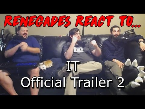 IT - Official Trailer 2 REACTION!