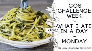 Vegan What I Ate in a Day / Low FODMAP GOS Challenge Week / Monday