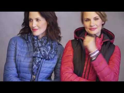 Northern Reflections: Sporty Chic with Quilted Jackets
