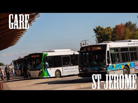cit laurentides gare st jerome buses departing hd. Black Bedroom Furniture Sets. Home Design Ideas