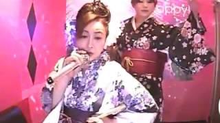 アユちゃんとミナミの帝王のテーマソング欲望の街の曲に合わせ 極道の妻...