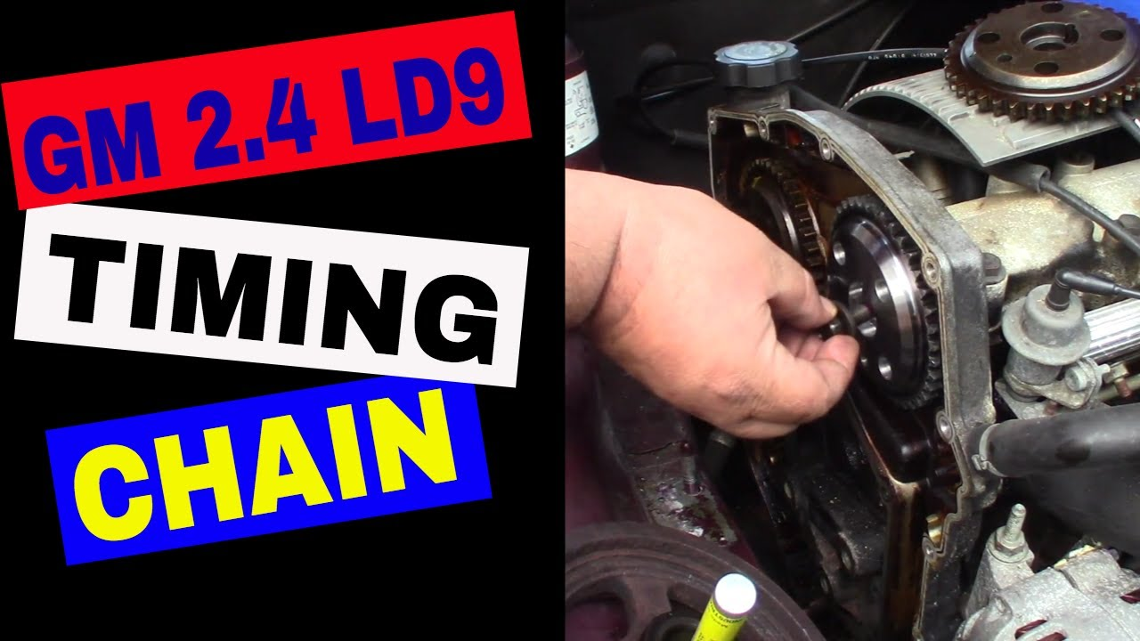 1999 Pontiac Grand Am 2.4L Timing Chaing Replacement - Part 3 - YouTube | Twin Cam Engine Diagram 2 4 Timing Chain |  | YouTube
