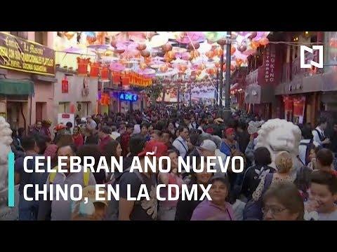 Año Nuevo Chino se celebra en el Barrio Chino en la CDMX - Las Noticias