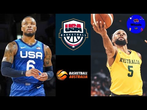 Download USA vs Australia Basketball Full Game Highlights | 2021 Olympics Exhibition Game