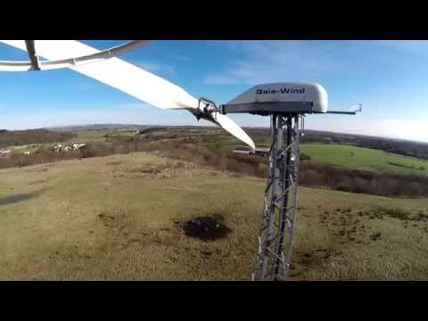 Wind Turbine Near Tip And Aspull Wutchy Area