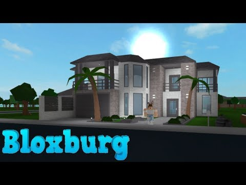 Bloxburg: Aesthetic Family Mansion 49K | Doovi