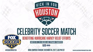 Stu Holden helps Hurricane Harvey victims with 'Kick in for Houston' charity match | FOX SOCCER