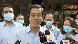【新加坡大选】马林百列集选区 行动党和工人党巧遇 两党加紧步伐争取选