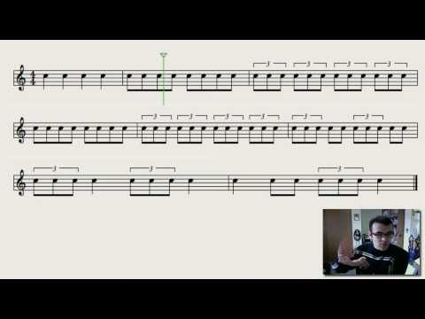 Triplets - Understanding Rhythm and Notation - See and Hear for Beginners