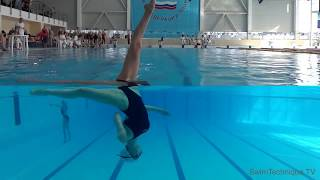Synchronized Swimming. St.Petersburg - Cинхронное плавание