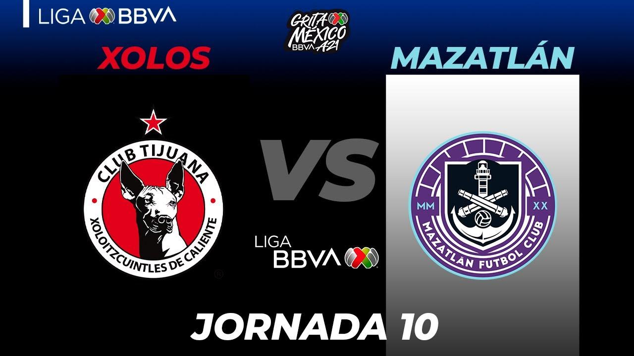 Download Resumen | Xolos vs Mazatlán | Liga BBVA MX  | Grita México A21 - Jornada 10