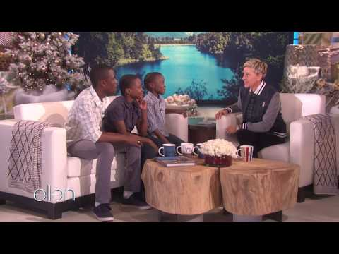 The Melisizwe Brothers on The Ellen DeGeneres Show