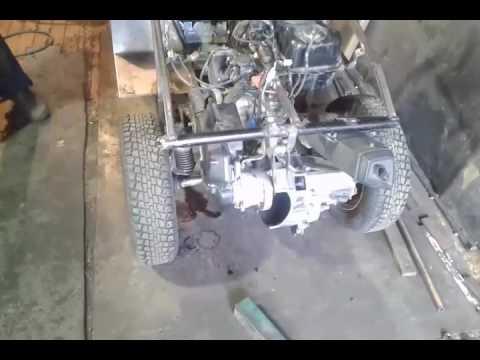 Машина из скутера