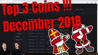 🌲 Top 3 Coins van de Maand December!!! | Crypto altcoins