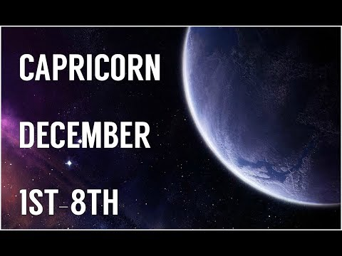 CAPRICORN. .THE TOWER WANTS TO FALL! DECEMBER 1ST-8TH WEEKLY READING!