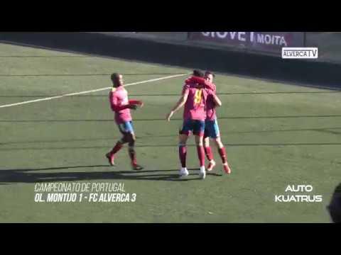 Ol. Montijo 1 - FC Alverca 3 Highlights