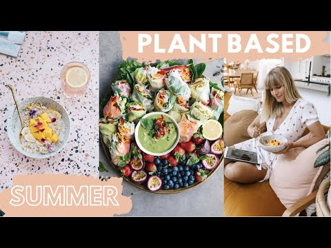 WHAT I EAT IN A DAY // SUMMER EDITION! wholefood plant based