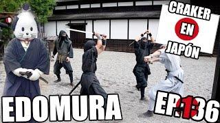 NIKKO EDOMURA | ALDEA SAMURAI Y NINJA | Craker en Japón