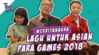 The Baldys - Lagu untuk Asian Para Games 2018 | #CeritaNaura