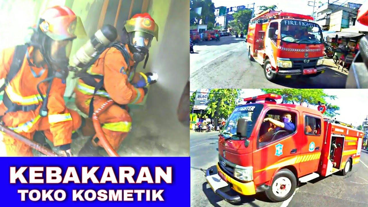 SUB FIRE : Kebakaran Toko Kosmetik Jl. Wonorejo