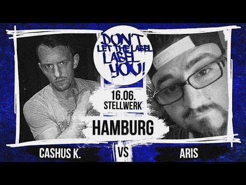 Cashus K vs Aris // DLTLLY RapBattle (Hamburg) // 2018