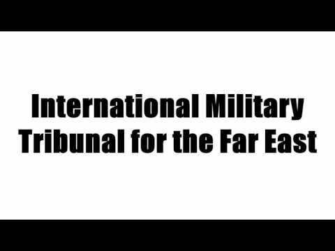 International Military Tribunal for the Far East