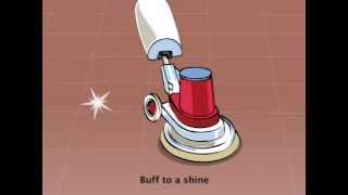 Floor Maintainer Spray Cleaning - Animated Product Usage Guide