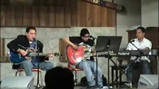 DENNIS CRUZ  Feat. ARDIE SARAO on Lead Guitars  Live ACOUSTIC NIGHT Benefit Concert