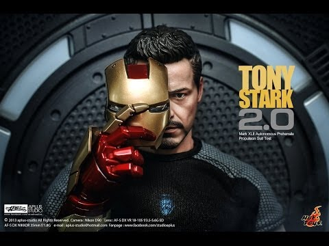 REVIEW : Hottoys IronMan3 Tony Stark (Armor Testing Version)