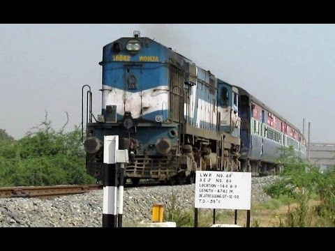 11 HiGH SPEED DiESEL ENCOUNTERS in INDIAN...