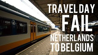 Travel Day Fail // Amsterdam To Bruges
