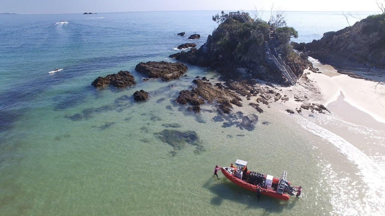Byron bay scuba diving julian rocks nsw youtube - Dive byron bay ...