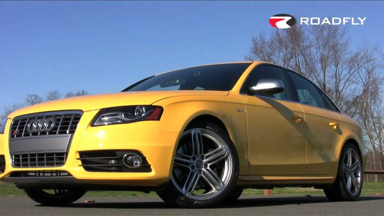 Roadflycom  2010 Audi S4 Review  Road Test  YouTube