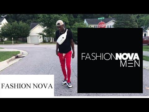 Fashion nova men try on haul !! | Buzzbunnyyy |