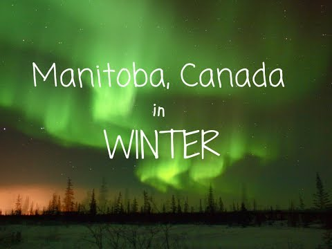 Traveling to Manitoba in Winter