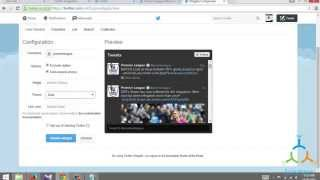How to Embed a Twitter Feed into Website : TWITTER #